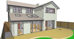Builders Ayr Conceptual Architect Drawing